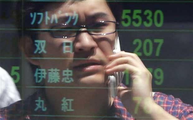 Japanese trader